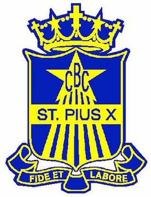 St Pius X College - Image: St Pius X Crest