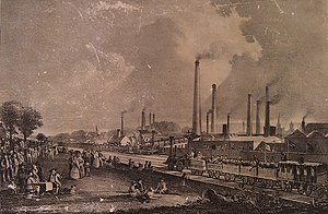 Environmentalism - Levels of air pollution rose during the Industrial Revolution, sparking the first modern environmental laws to be passed in the mid-19th century.