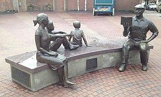 The Storyteller (sculpture) - The sculpture in 2015
