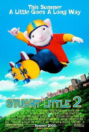 Stuart Little 2 - Theatrical release poster