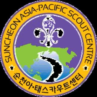 Asia-Pacific Scout Region (World Organization of the Scout Movement) - Suncheon Asia-Pacific Scout Centre.