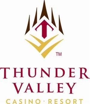 Thunder Valley Casino Resort - Image: TVC Vertical Logo