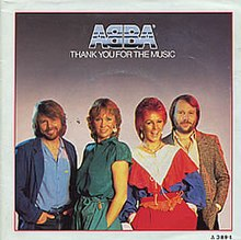 ABBA — Thank You for the Music (studio acapella)