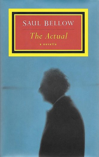 The Actual (novel) - First edition cover