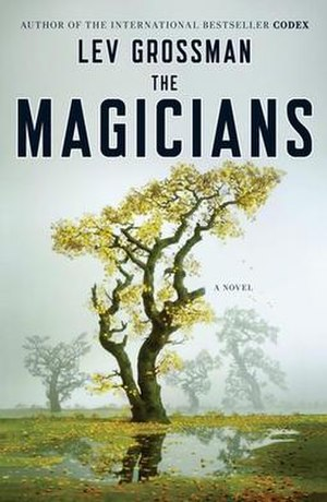 The Magicians (Grossman novel) - Cover of The Magicians