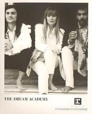 The Dream Academy - The Dream Academy in 1991 Left to right: Nick Laird-Clowes, Kate St. John, and Gilbert Gabriel