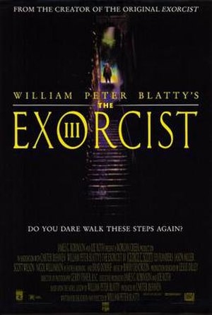 The Exorcist III - Theatrical release poster