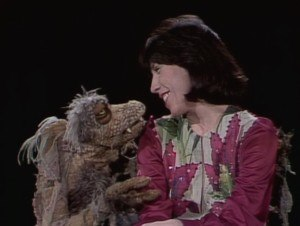 """The Land of Gorch - Scred sings """"I Got You Babe"""" with Lily Tomlin on the episode that aired on November 22, 1975."""