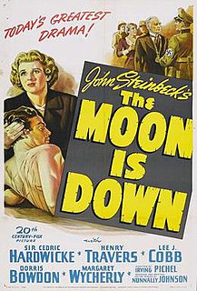 <i>The Moon Is Down</i> (film) 1943 film by Irving Pichel