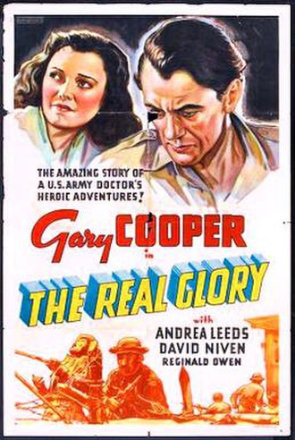 The Real Glory - Theatrical release poster