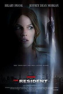 <i>The Resident</i> (film) 2011 film by Antti Jokinen