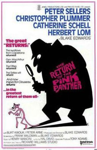 The Return of the Pink Panther - Theatrical release poster