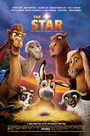 The Star (2017 film) - Theatrical release poster