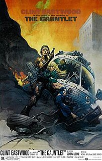 <i>The Gauntlet</i> (film) 1977 American action film directed by Clint Eastwood