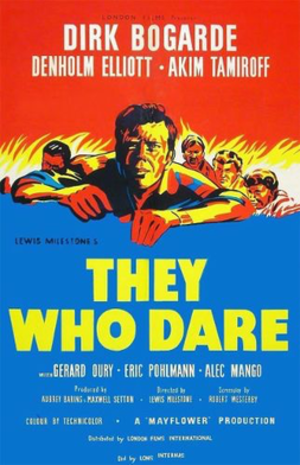 They Who Dare - DVD cover