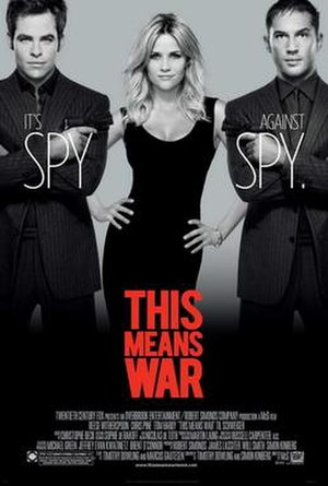 This Means War (film) - Theatrical release poster