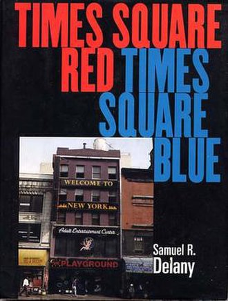 Times Square Red, Times Square Blue - Dust jacket from the first edition