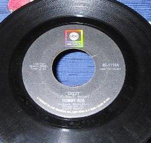 Dizzy (Tommy Roe song) - Image: Tommy Roe Dizzy