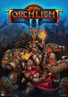 <i>Torchlight II</i> action role-playing video game
