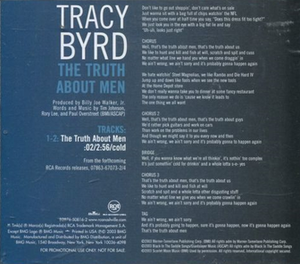 The Truth About Men (song) - Image: Tracy Byrd The Truth About Men cd single