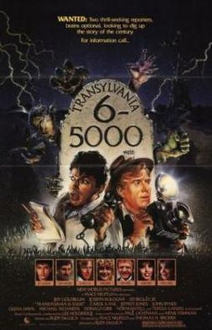 Transylvania 6-5000 (1985 film) - Image: Transylvania six five thousand