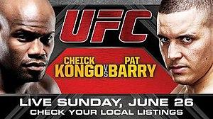 UFC Live: Kongo vs. Barry - Image: UF Clive 4