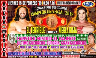 CMLL Universal Championship (2019) 2019 Consejo Mundial de Lucha Libre event