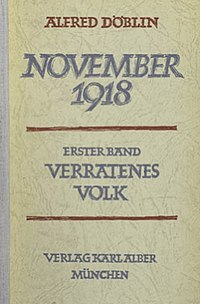 Verratenes Volk first edition cover