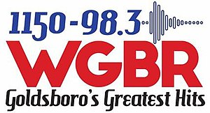 WGBR - Image: WGBR 1150 98.3 logo