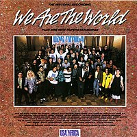 ?We Are the World USA for Africa? cover