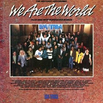 We Are the World (album) - Image: Wearetheworldsingle