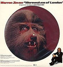Image result for warren zevon werewolves of london
