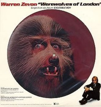Werewolves of London - Image: Werewolves of London Single