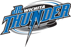 Wichita Jr. Thunder - Image: Wichita Junior Thunder Logo