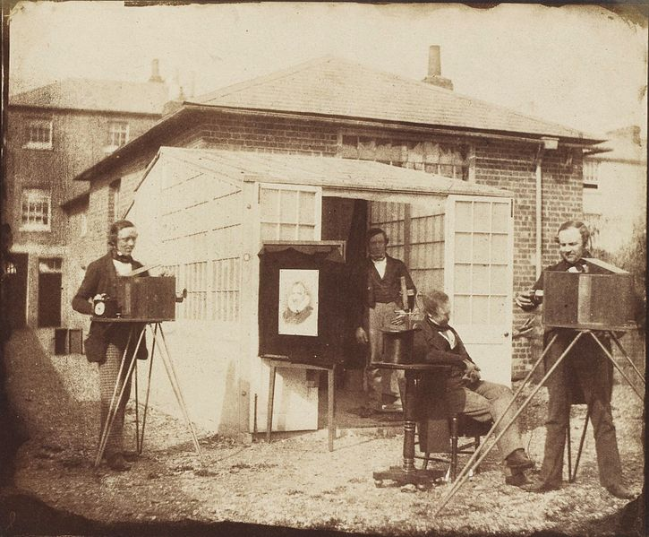 When photography was invented, a new era of innovation was begun.