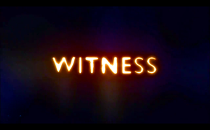 Witness (2006 TV programme) - Title card