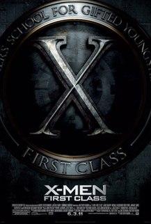 <i>X-Men: First Class</i> 2011 superhero film directed by Matthew Vaughn