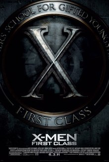 X-Men: First Class (2011) (In Hindi) SL VBB - Kevin Bacon, January Jones, Rose Byrne, Jennifer Lawrence, Zoe Kravitz, Nicholas Hoult and Lucas Till
