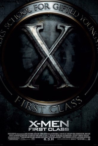 X-Men: First Class - Theatrical release poster