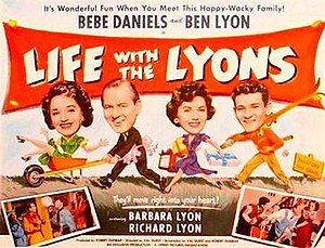 """Life with the Lyons (film) - Image: """"Life with the Lyons"""" (1954)"""