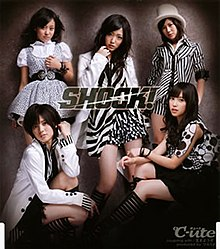 °C-ute SHOCK! Regular Edition (EPCE-5683) cover.jpg
