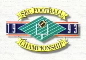 1993 SEC Championship Game - 1993 SEC Championship logo.