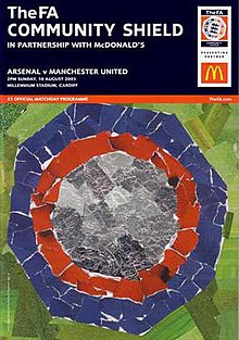 2003 FA Community Shield programme.jpg