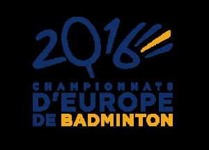 2016 European Badminton Championships - Image: 2016 European Badminton Championships Logo