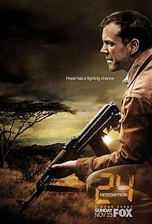 <i>24: Redemption</i> 2008 television film directed by Jon Cassar