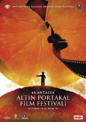 44th Antalya Golden Orange Film Festival - Festival Poster by Emrah Yucel