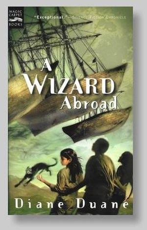 A Wizard Abroad - Cover art