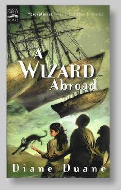 Picture of a book: A Wizard Abroad