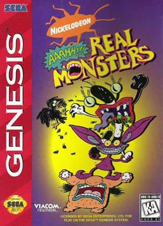 Aaahh!!! Real Monsters (video game) - Image: Aaahh Real Monsters