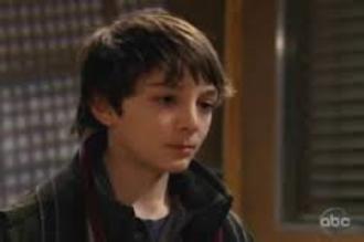 Morgan Corinthos - Aaron Refvem as Morgan Corinthos